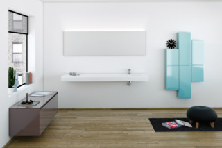STRATO bathroom furniture set 16  by  Inbani
