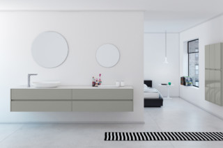 STRATO bathroom furniture set 21  by  Inbani