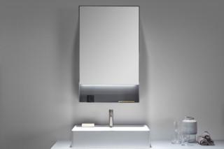 STRATO metal mirror cabinet  by  Inbani