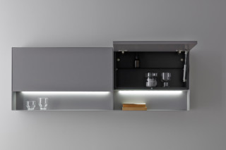STRATO metal wall cabinet  by  Inbani