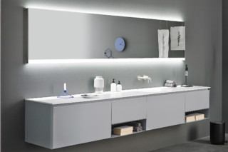 STRATO mirror with lighting  by  Inbani