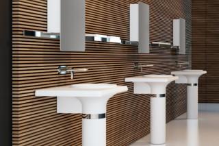 VASE bathroom furniture set 5  by  Inbani