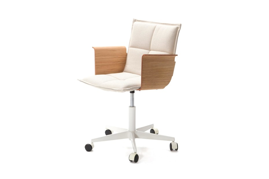 LAB Office chair rollable  with armrests