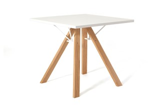 LAB table square  by  inno