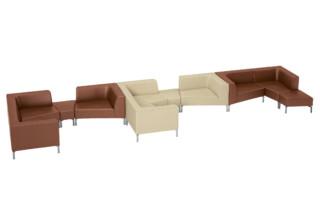 TANGRAMis5 Sofa  von  Interstuhl
