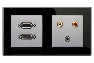 Multimedia Anschlusssystem  von  JUNG
