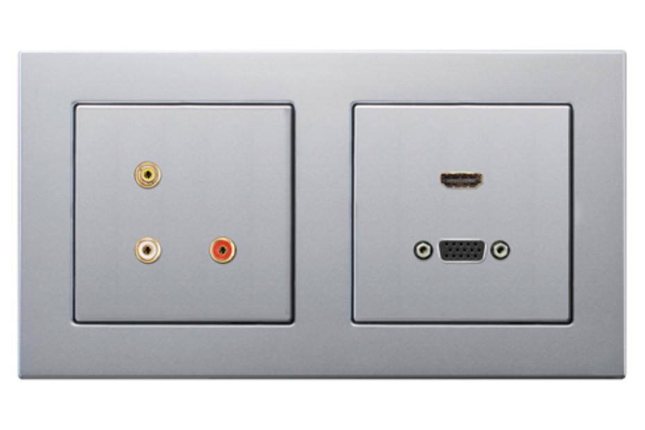 Multimedia Anschlusssystem