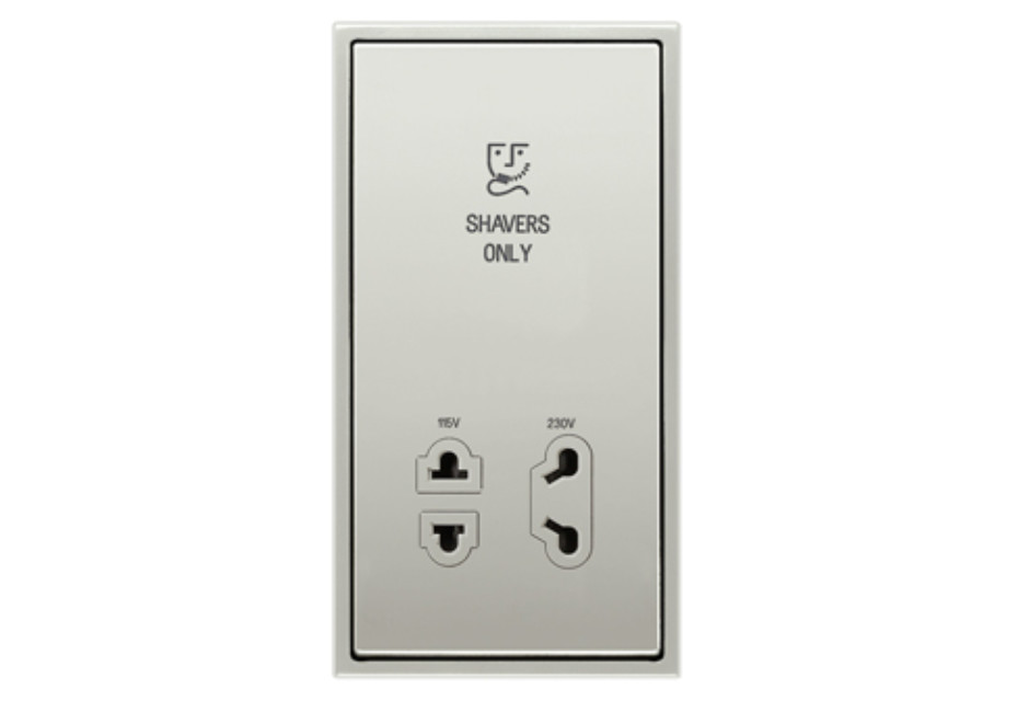Shaving socket
