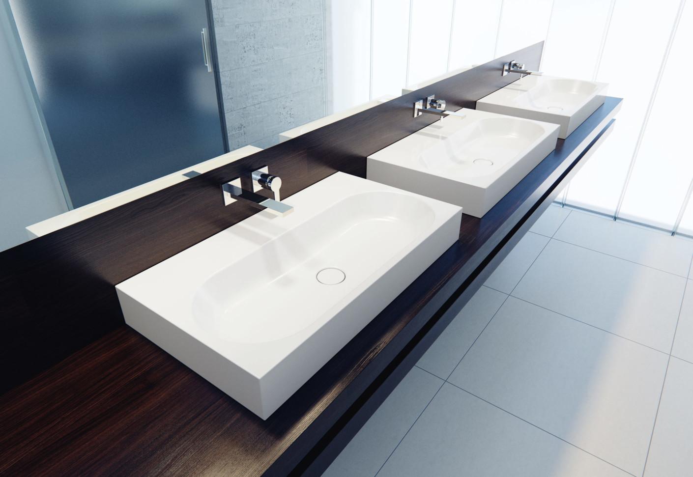 centro aufbau waschbecken von kaldewei stylepark. Black Bedroom Furniture Sets. Home Design Ideas