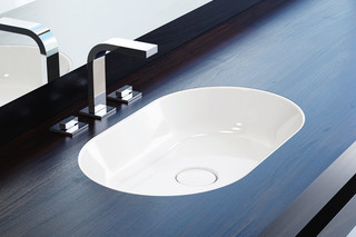 Centro recessed washbasin round  by  Kaldewei