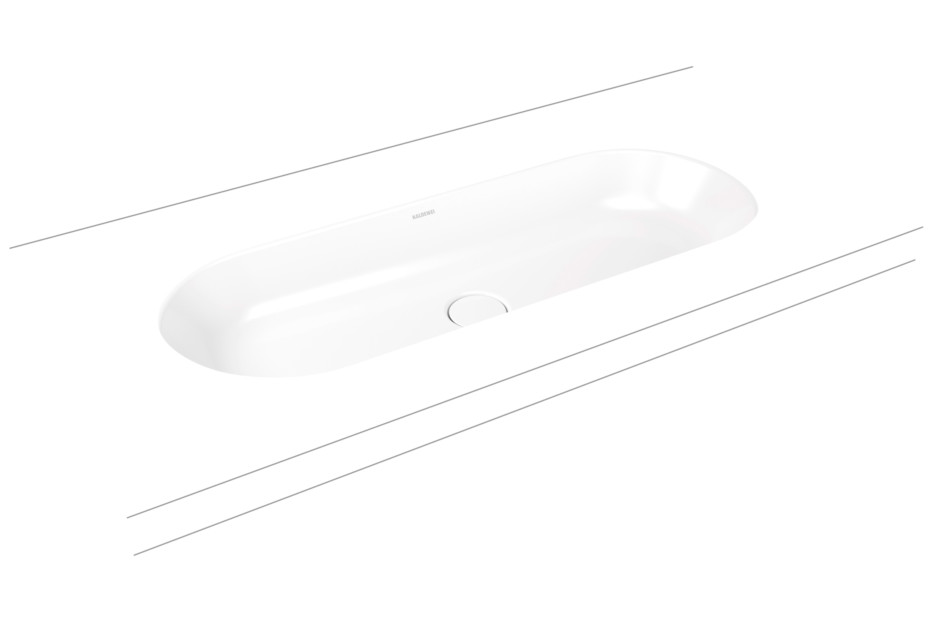 Centro recessed washbasin round