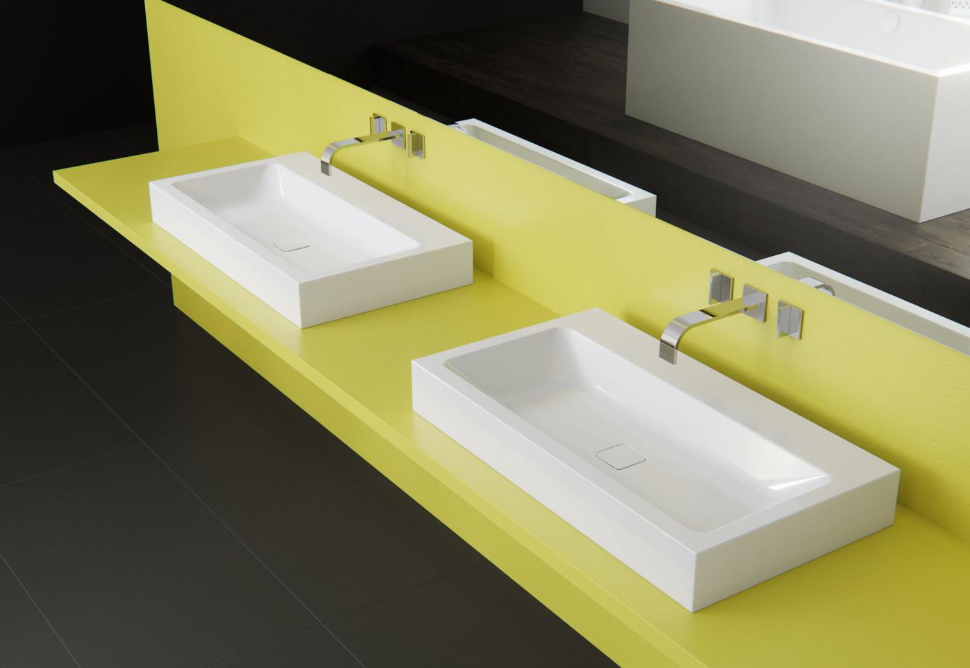 Cono aufbau waschbecken von kaldewei stylepark for Kaldewei waschbecken
