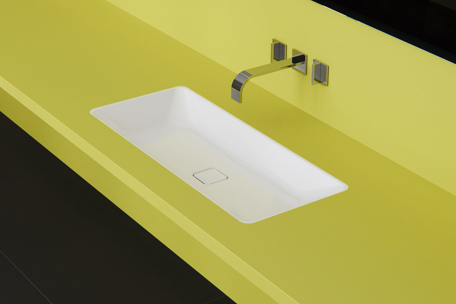Cono recessed washbasin