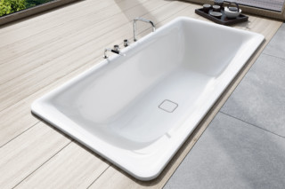 Incava recessed bathtub  by  Kaldewei