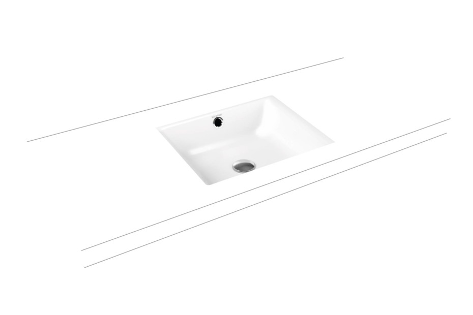 Puro recessed washbasins rimless