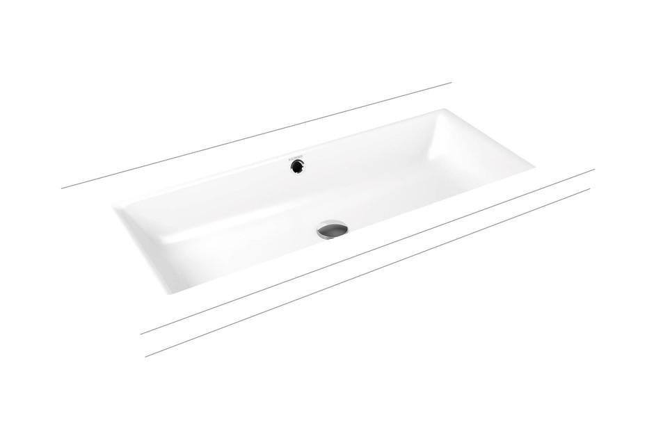 Puro recessed washbasins rimless