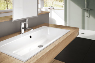 Puro recessed washbasins  by  Kaldewei