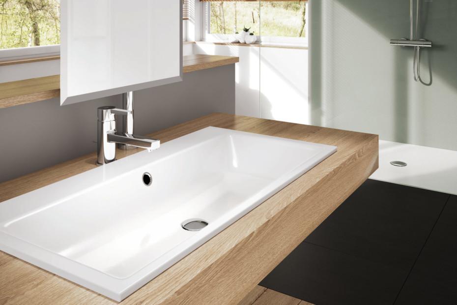 puro einbauwaschbecken von kaldewei stylepark. Black Bedroom Furniture Sets. Home Design Ideas