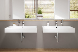Puro washbasin wall mounted  by  Kaldewei