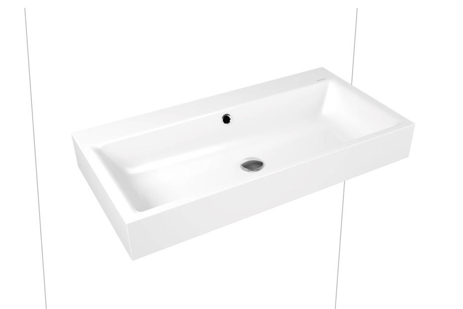 Puro washbasin wall mounted