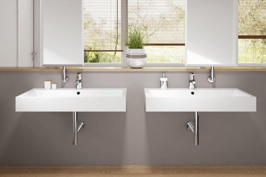 Puro washbasin wall mounted