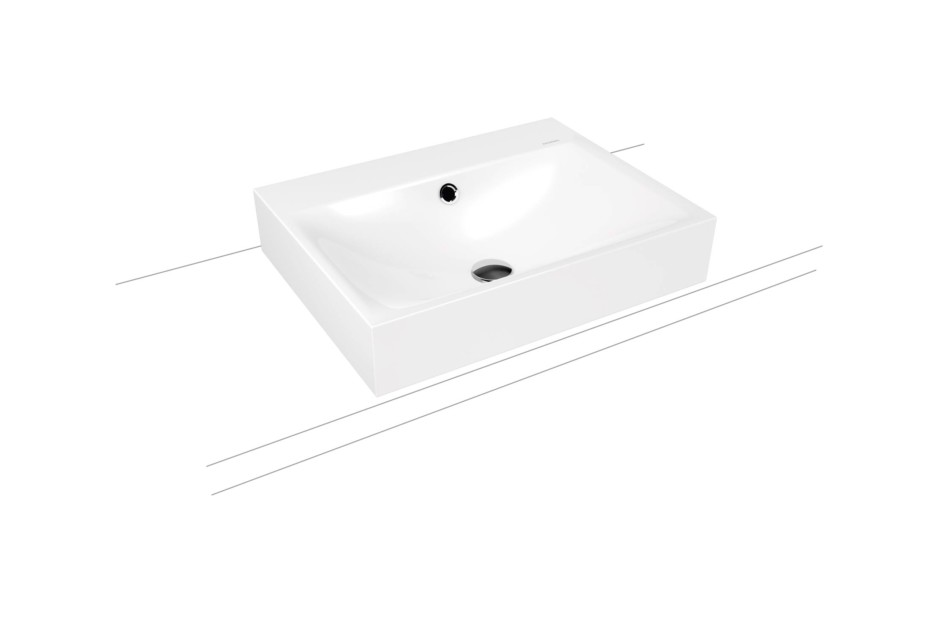 Silenio mounted washbasin