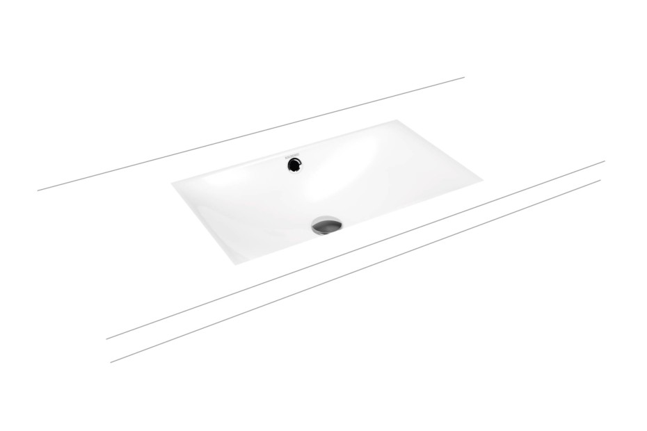 Silenio recessed washbasin