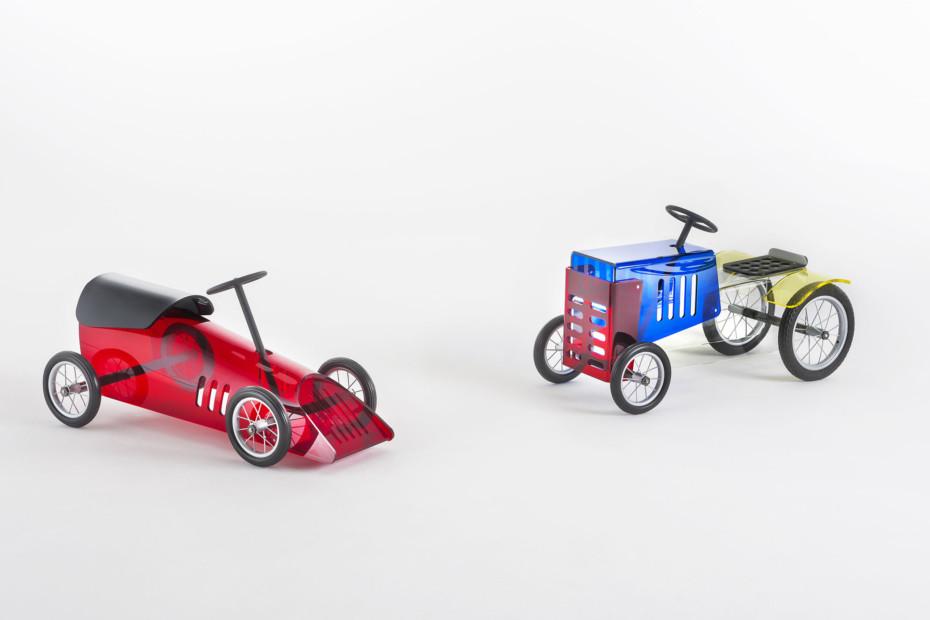 Discovolante toy car