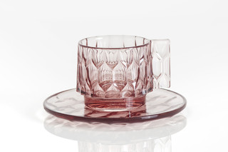 Jelly cup and saucer  by  Kartell