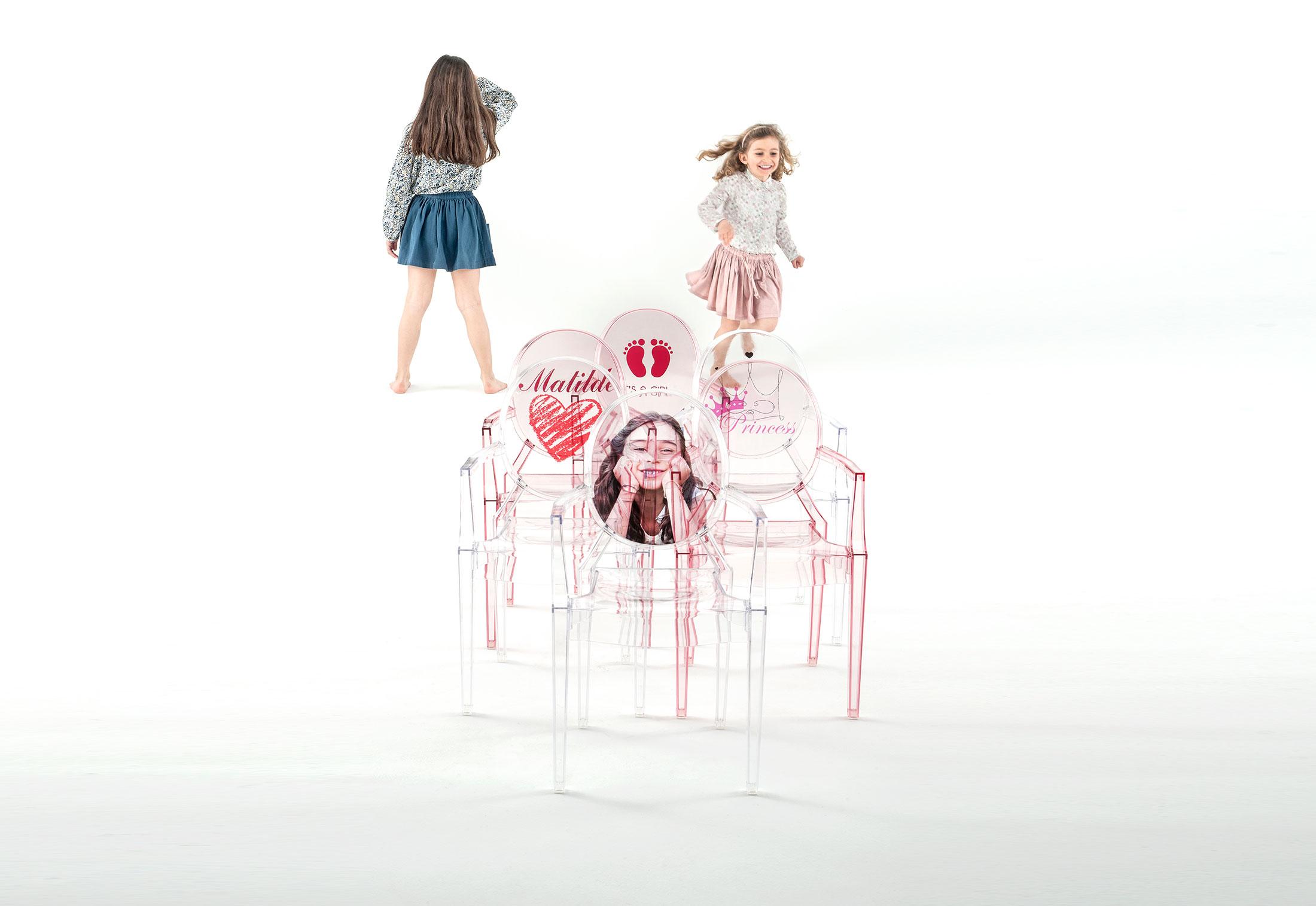 lou lou ghost kids von kartell stylepark. Black Bedroom Furniture Sets. Home Design Ideas