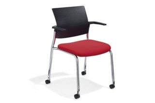 Cato Meeting chair with castors  by  Klöber