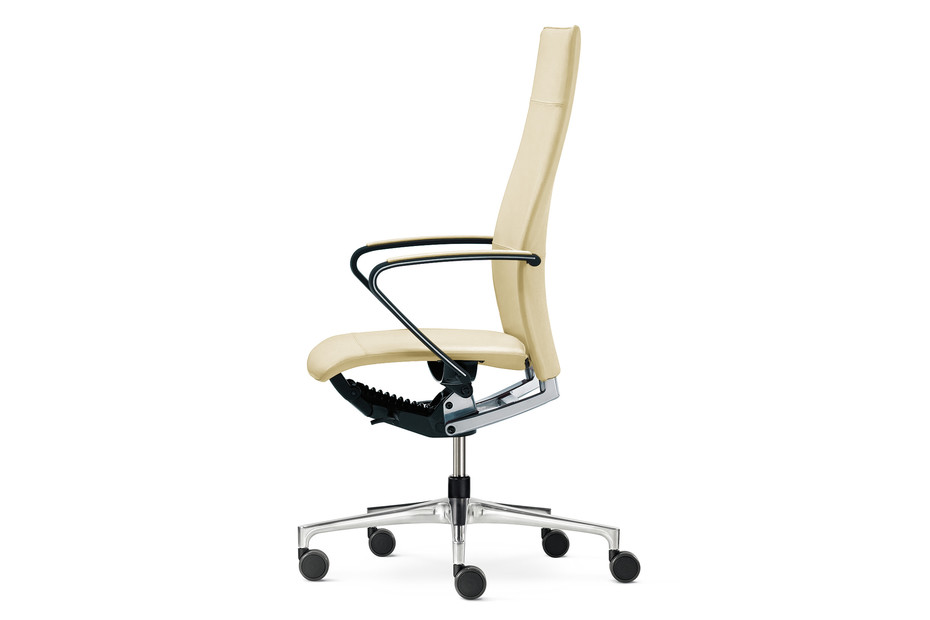 Ciello Office swivel chair with high backrest