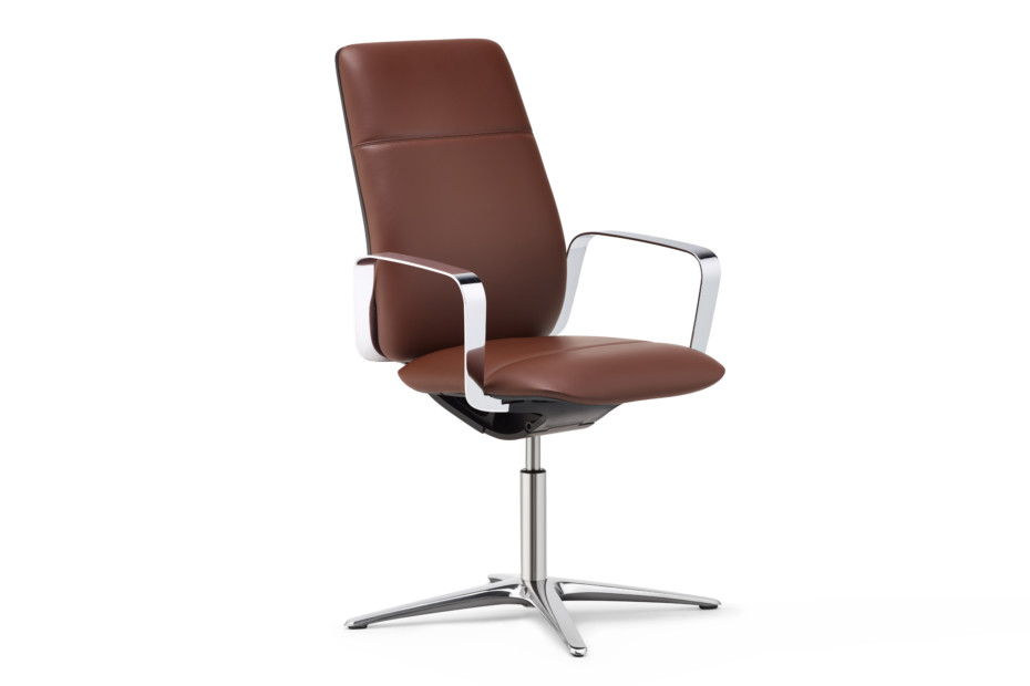 ConWork Conference swivel chair with high backrest
