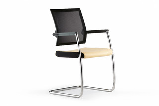 Duera Meeting chair with mesh backrest  by  Klöber