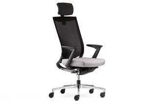 Duera Office swivel chair with mesh backrest  by  Klöber