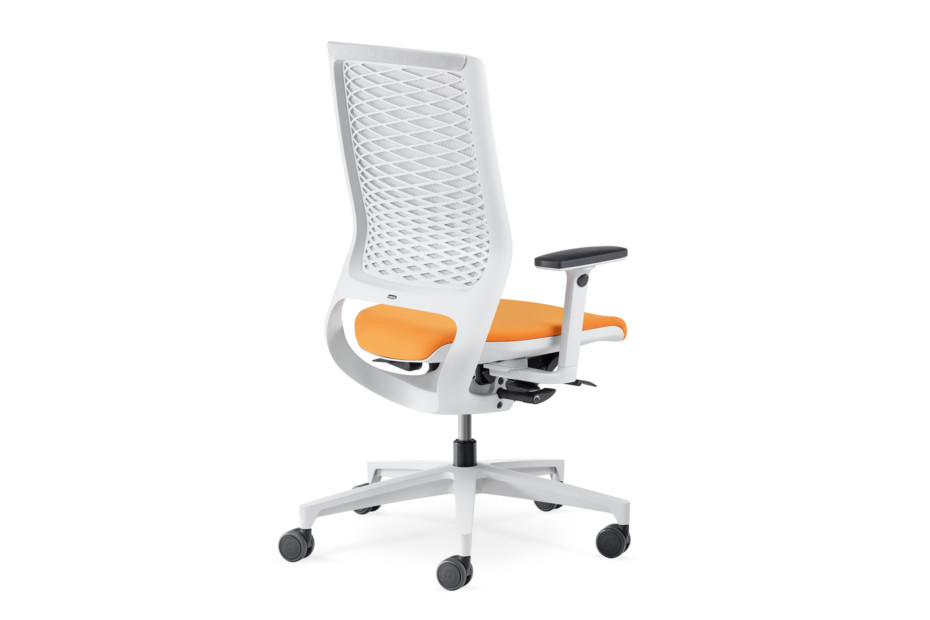 Mera Office swivel chair with mesh backrest
