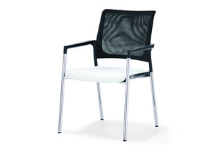 Mera visitor chair with mesh backrest  by  Klöber