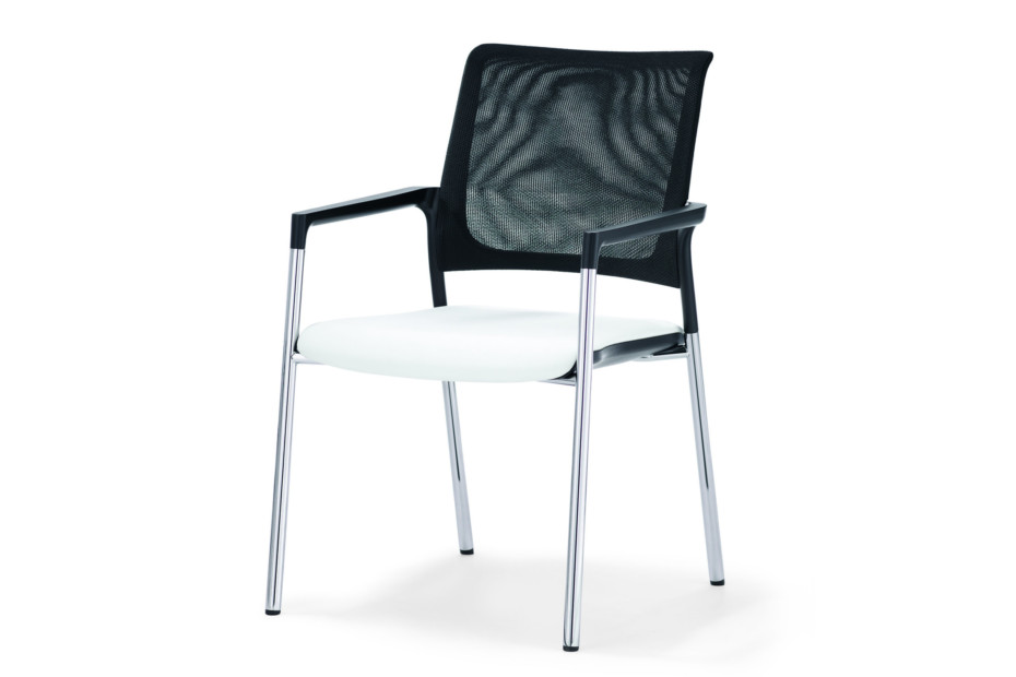 Mera visitor chair with mesh backrest