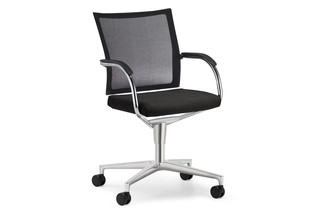Orbit Network Conference swivel chair with castors  by  Klöber