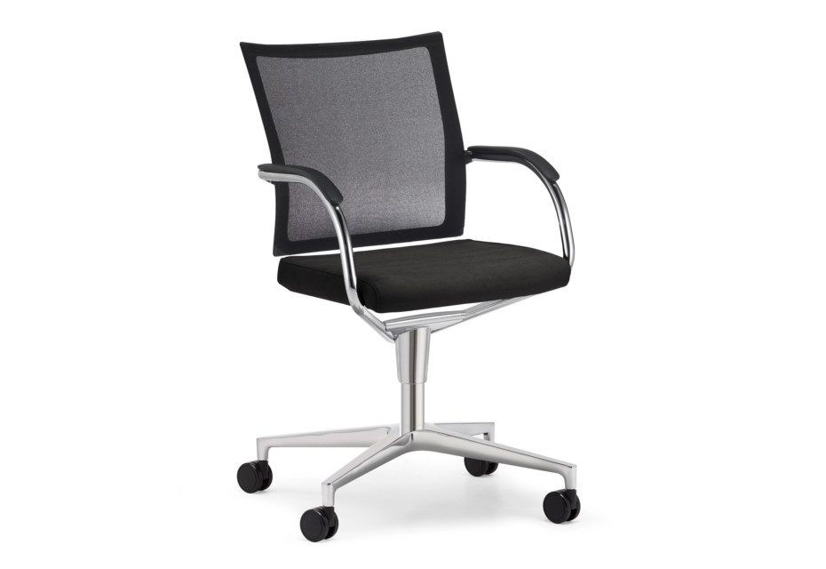 Orbit Network Conference swivel chair with castors