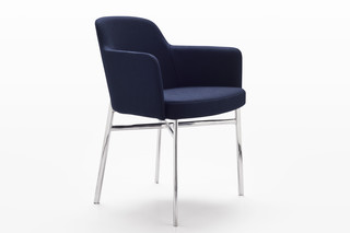 Krusin seat with armrests  by  Knoll
