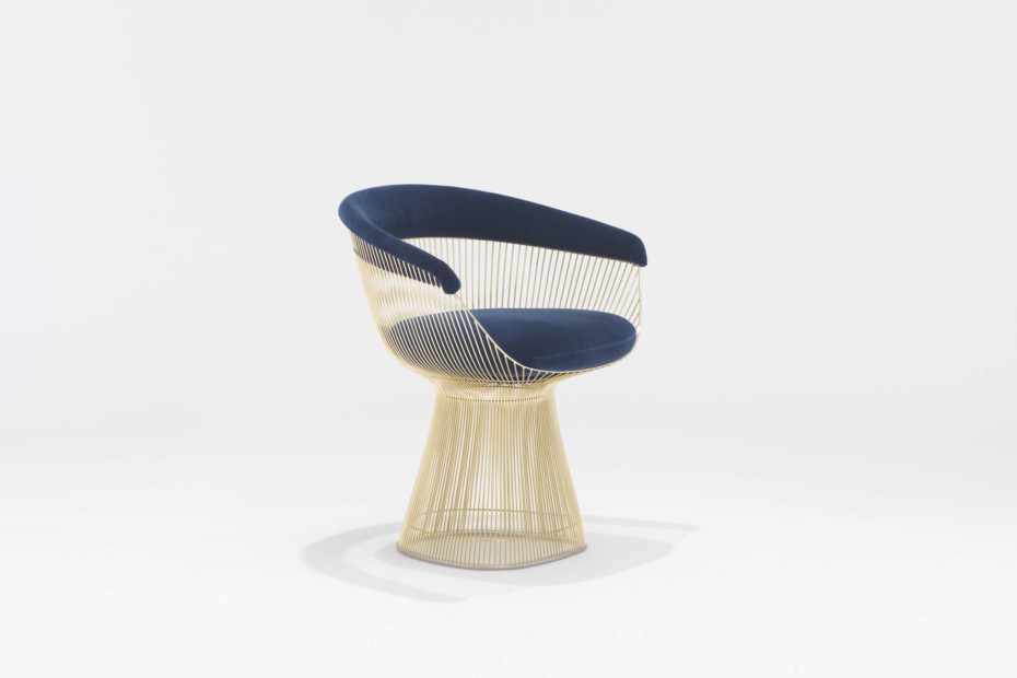 Platner Lounge Chair gold