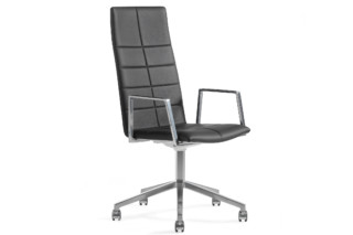 Archal conference chair with high backrest  by  Lammhults