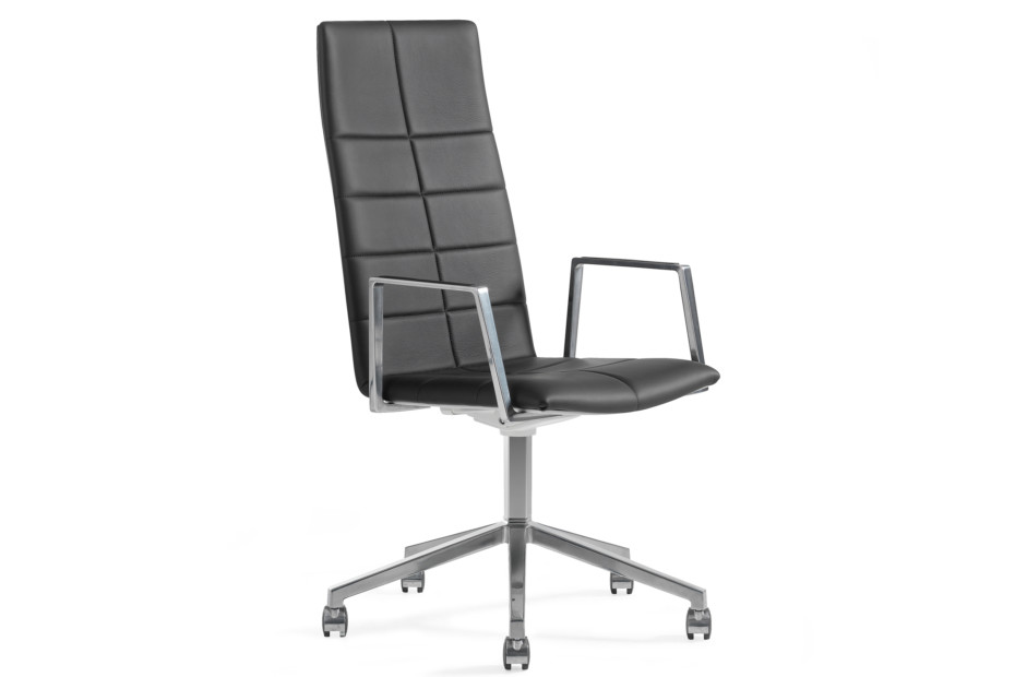 Archal conference chair with high backrest