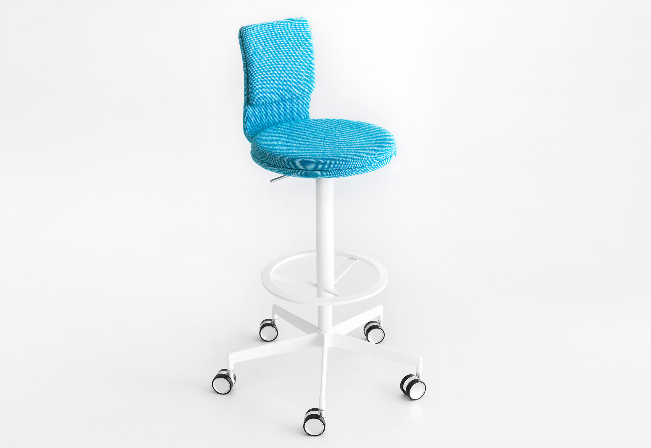 Lab Bar Stool With Back Rest By Lapalma Stylepark