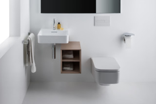 Boutique bathroom shelf  by  Laufen