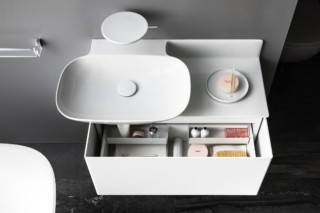 Ino cabinet for washbasin with one drawer  by  Laufen