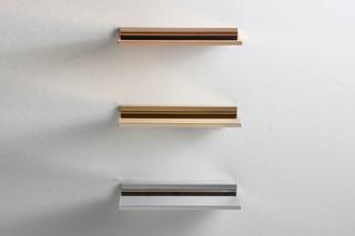 Kartell by Laufen Ablage metallic colour  by  Laufen