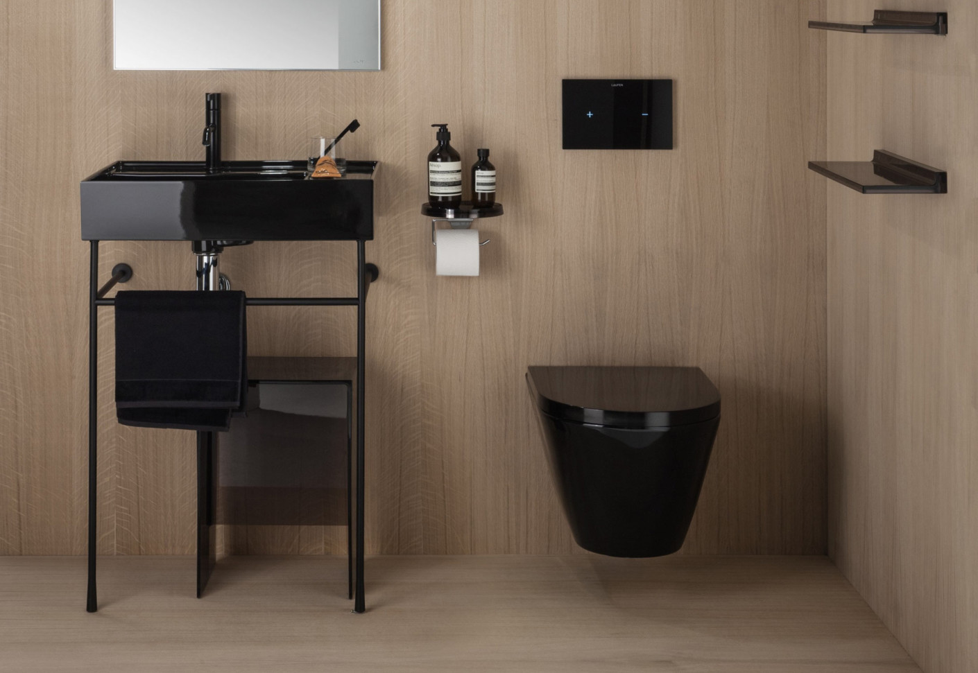 kartell by laufen floor standing washbasins with storage. Black Bedroom Furniture Sets. Home Design Ideas