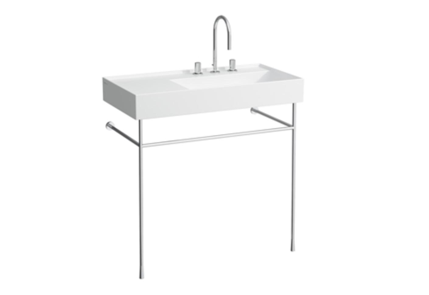 kartell by laufen bodenstehender waschtische mit ablage. Black Bedroom Furniture Sets. Home Design Ideas